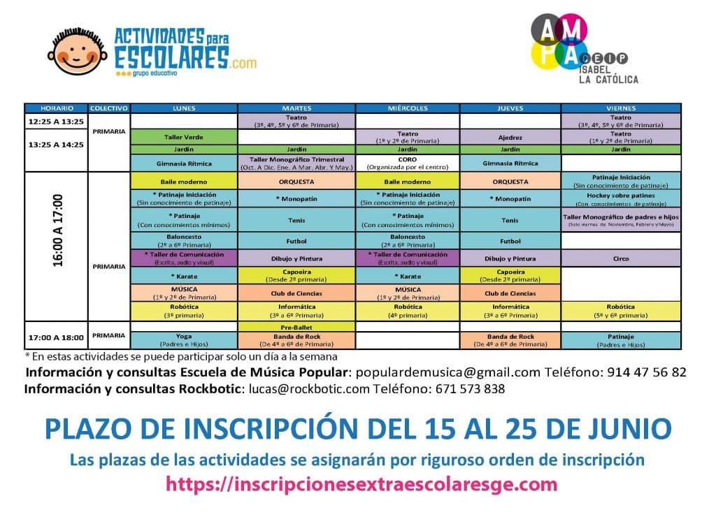 cartel_calendario_primaria_2017-18 ENVIADO FAMILIAS